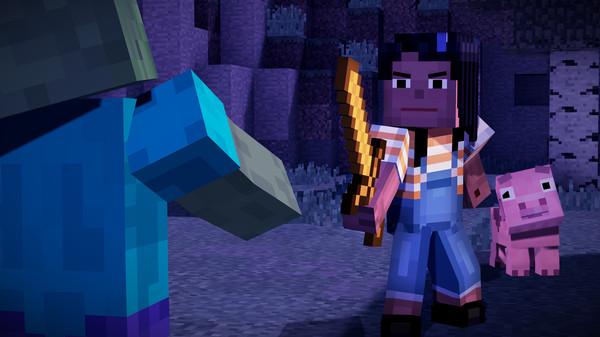 Скриншот №22 к Minecraft Story Mode - A Telltale Games Series