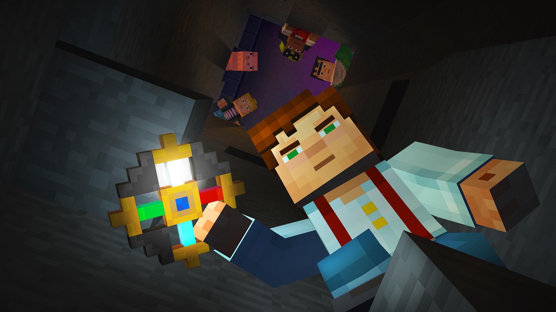 Minecraft: Story Mode Screenshot 2