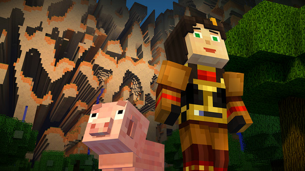Скриншот №8 к Minecraft Story Mode - A Telltale Games Series