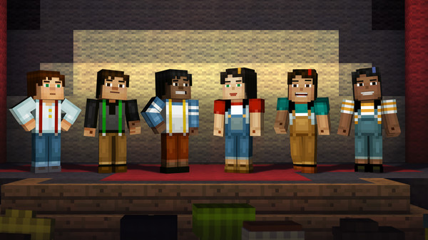 Minecraft: Story Mode - A Telltale Games Series скриншот