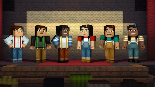 Скриншот №19 к Minecraft Story Mode - A Telltale Games Series
