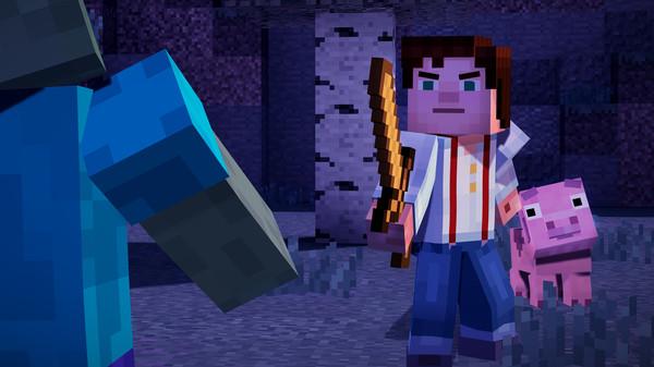 Скриншот №20 к Minecraft Story Mode - A Telltale Games Series