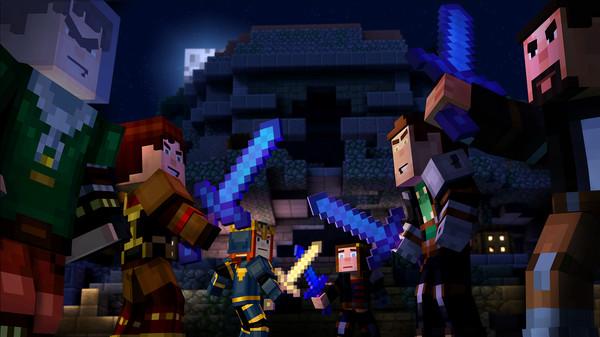 Скриншот №2 к Minecraft Story Mode - A Telltale Games Series