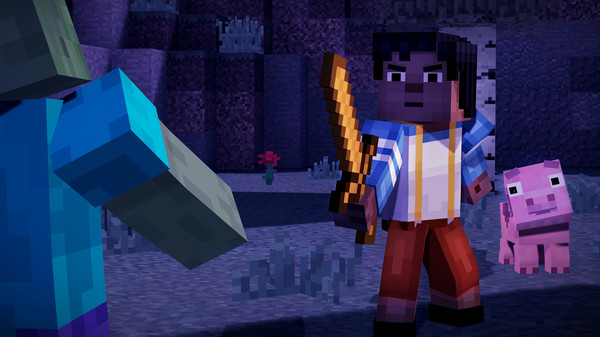 Скриншот №21 к Minecraft Story Mode - A Telltale Games Series