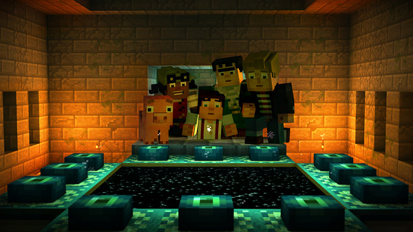 Скриншот №10 к Minecraft Story Mode - A Telltale Games Series