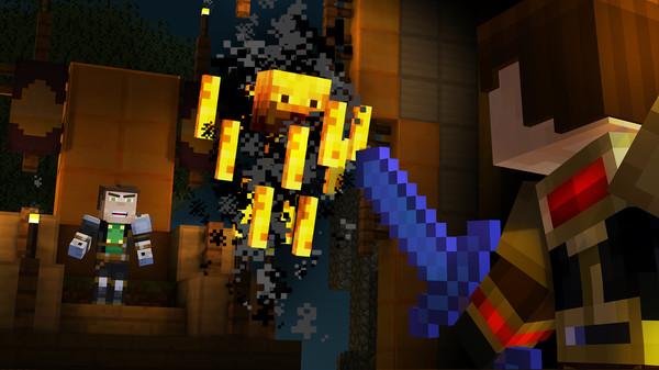 Скриншот №3 к Minecraft Story Mode - A Telltale Games Series