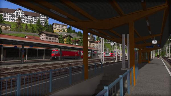 скриншот Train Simulator: Albula Line: St Moritz - Thusis  Route Add-On 2
