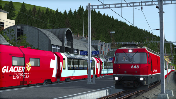 скриншот Train Simulator: Albula Line: St Moritz - Thusis  Route Add-On 5