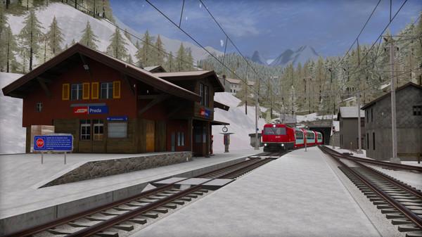 скриншот Train Simulator: Albula Line: St Moritz - Thusis  Route Add-On 4