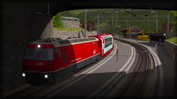 скриншот Train Simulator: Albula Line: St Moritz - Thusis  Route Add-On 1