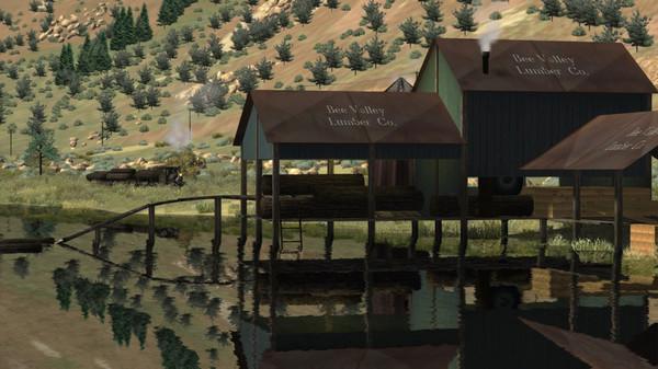скриншот Train Simulator: Clear Creek Log & Lumber Expansion Pack Add-On 1