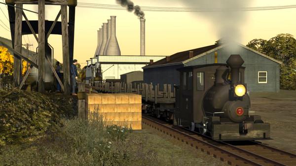 скриншот Train Simulator: Clear Creek Log & Lumber Expansion Pack Add-On 3
