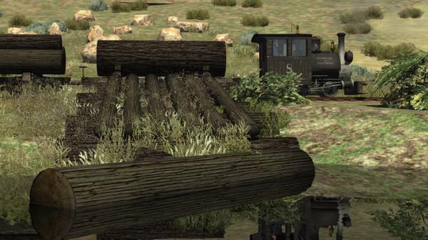 скриншот Train Simulator: Clear Creek Log & Lumber Expansion Pack Add-On 5