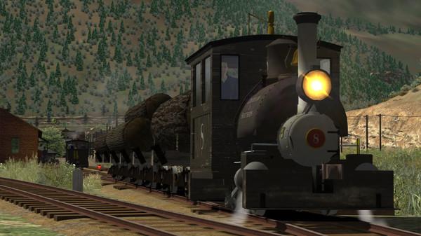 скриншот Train Simulator: Clear Creek Log & Lumber Expansion Pack Add-On 0