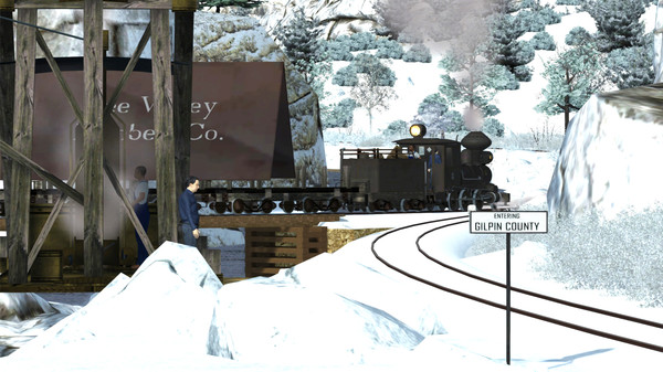 скриншот Train Simulator: Clear Creek Log & Lumber Expansion Pack Add-On 2