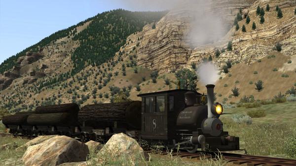 скриншот Train Simulator: Clear Creek Log & Lumber Expansion Pack Add-On 4