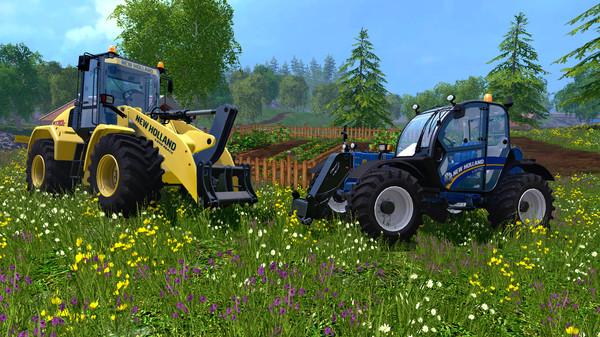 Скриншот №2 к Farming Simulator 15 - New Holland Loader Pack