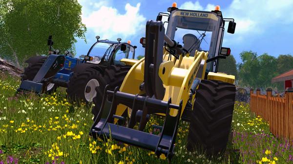 Скриншот №3 к Farming Simulator 15 - New Holland Loader Pack