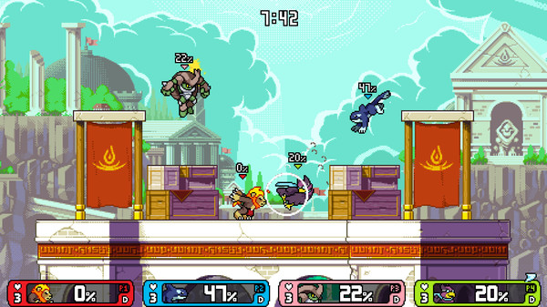 Скриншот №1 к Rivals of Aether