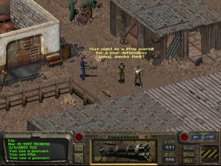 Скриншот №4 к Fallout A Post Nuclear Role Playing Game