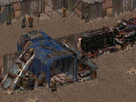 Fallout: A Post Nuclear Role Playing Game (Fallout) скриншот