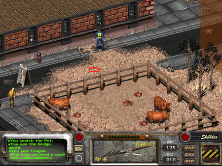 Скриншот №5 к Fallout 2 A Post Nuclear Role Playing Game