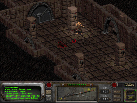 Скриншот №2 к Fallout 2 A Post Nuclear Role Playing Game