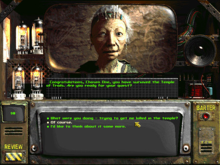 Скриншот №1 к Fallout 2 A Post Nuclear Role Playing Game