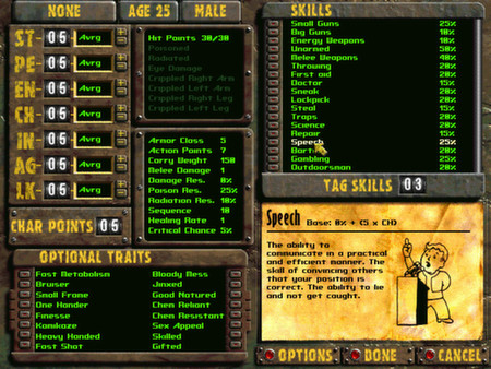 Скриншот №3 к Fallout 2 A Post Nuclear Role Playing Game