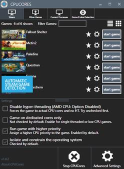 Скриншот №3 к CPUCores  Maximize Your FPS