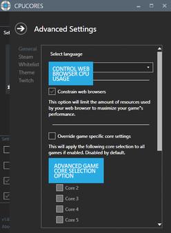 Скриншот №6 к CPUCores  Maximize Your FPS