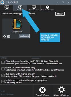 Скриншот №4 к CPUCores  Maximize Your FPS