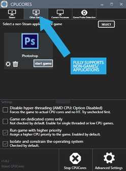 Скриншот №5 к CPUCores  Maximize Your FPS
