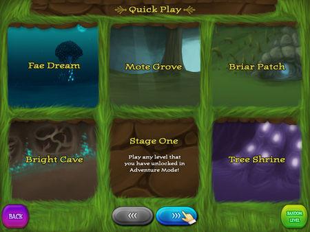Faerie Solitaire скриншот
