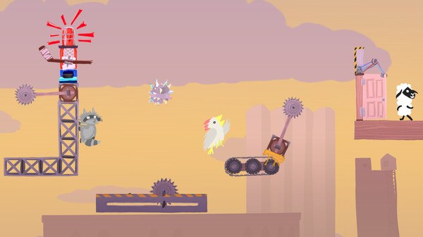 Скриншот №5 к Ultimate Chicken Horse