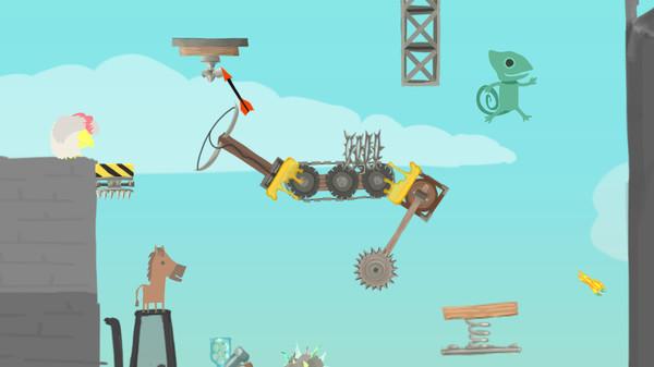 Скриншот №3 к Ultimate Chicken Horse