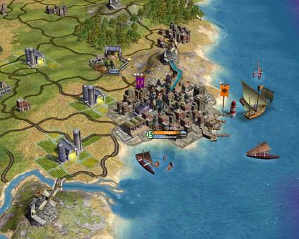 Скриншот №1 к Sid Meiers Civilization® IV