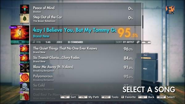 "Скриншот №2 к Rocksmith® 2014 – Brand New - ""Okay I Believe You But My Tommy Gun Dont"""