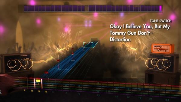 "Скриншот №1 к Rocksmith® 2014 – Brand New - ""Okay I Believe You But My Tommy Gun Dont"""