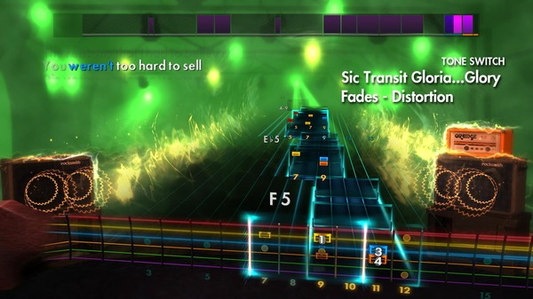 Скриншот №3 к Rocksmith® 2014 – Brand New Song Pack