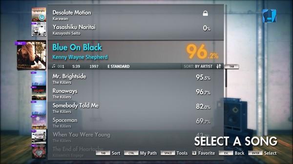 "Скриншот №4 к Rocksmith® 2014 – Kenny Wayne Shepherd - ""Blue on Black"""