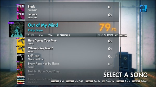 "Скриншот №4 к Rocksmith® 2014 – Philip Sayce - ""Out of My Mind"""