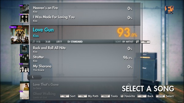 "Скриншот №4 к Rocksmith® 2014 – Kiss - ""Love Gun"""