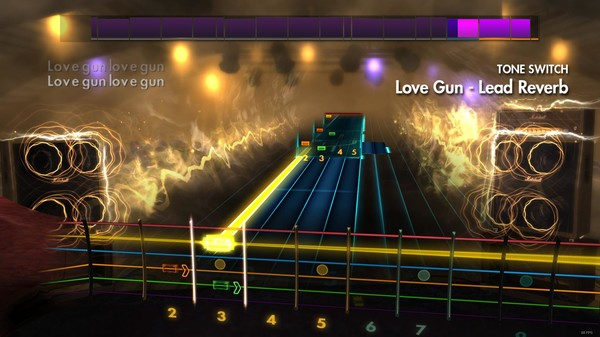 "Скриншот №1 к Rocksmith® 2014 – Kiss - ""Love Gun"""