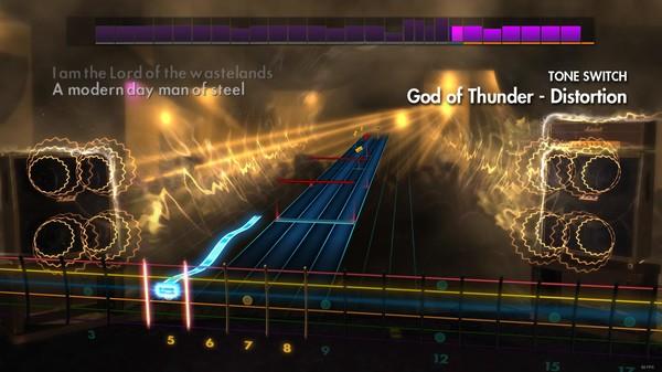 "Скриншот №2 к Rocksmith® 2014 – Kiss - ""God of Thunder"""