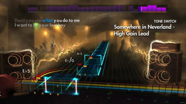 """Скриншот №3 к Rocksmith® 2014 – All Time Low - """"Somewhere in Neverland"""""""
