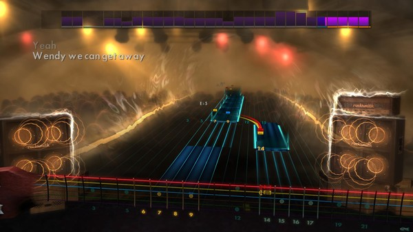 """Скриншот №1 к Rocksmith® 2014 – All Time Low - """"Somewhere in Neverland"""""""