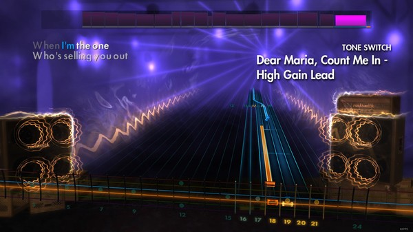 """Скриншот №4 к Rocksmith® 2014 – All Time Low - """"Dear Maria Count Me In"""""""