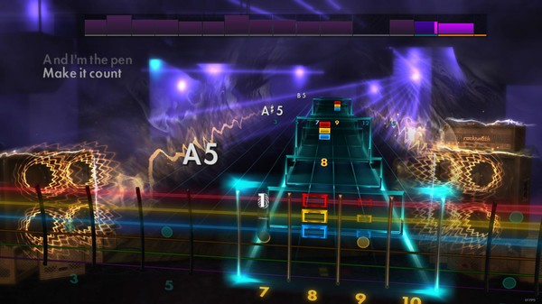 """Скриншот №3 к Rocksmith® 2014 – All Time Low - """"Dear Maria Count Me In"""""""