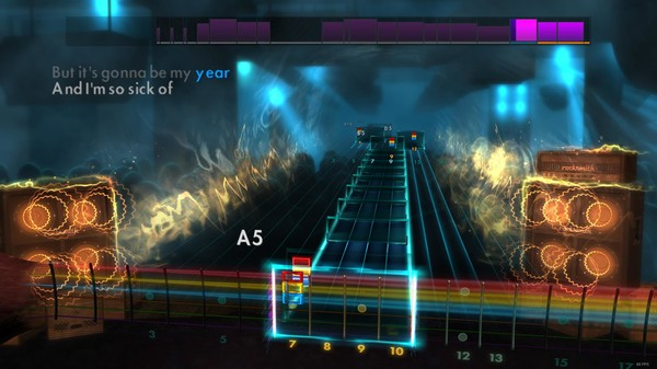 "Скриншот №2 к Rocksmith® 2014 – All Time Low - ""Weightless"""